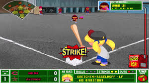 backyard baseball 2001 season mode playthrough game 3 double digit