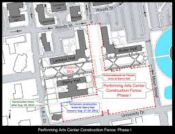 Texas State University Campus Map by Texas State Updates Pac Construction Closures Bobcat Blog