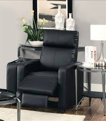 black theater seating push back recliner by coaster 600181