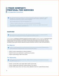 sample proposal for services 8 proposal template procedure template sample