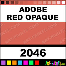 adobe red opaque delta acrylic paints 2046 adobe red opaque