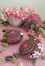 hand painted rocks rock art painted stones dragonfly rock