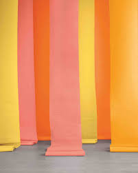 streamer backdrop striped wedding ideas martha stewart weddings