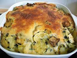 recette cuisine courgette recette de gratin pommes de terre courgettes