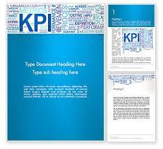 kpi word cloud word template 12913 poweredtemplate com
