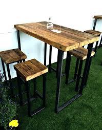 Industrial Bistro Table Industrial Bistro Table Ohfudge Info