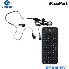 android keyboard with microphone ipazzport mini voice wireless air mouse with build in microphone
