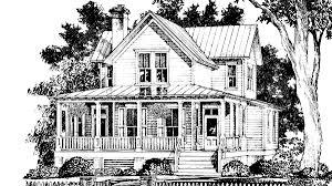 aiken ridge farmhouse southern living house plan sl 1123 3 br 4