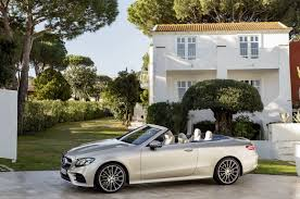 new mercedes e class cabriolet goes on sale in germany with