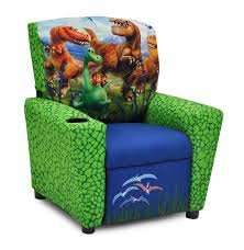kidzworld disney u0027s the good dinosaur kids recliner with cup holder
