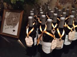 wine bottle favors personalized wine bottle wedding favors inncredible caterers