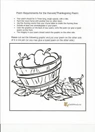 a poem about thanksgiving thanksgiving poem free handout 4 the english emporium