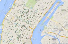 Midtown Manhattan Map This Interactive Map Shows Every Mcdonald U0027s Dunkin U0027 Donuts And