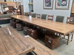 large dining table sets pine dining room table furniture large rustic for kitchen ideas 11