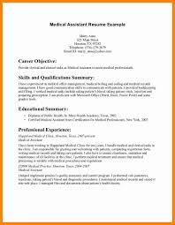 Resume For Medical Records 11 Medical Assistant Objective Resume New Hope Stream Wood