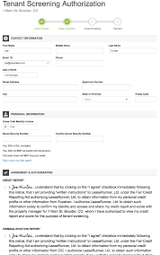 Experian Help Desk Verify Identity by Leaserunner Tenant Screening Process How It Works