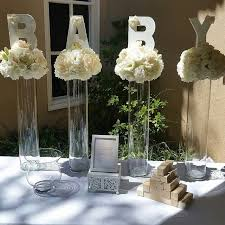 baby shower decor ideas centerpiece ideas for baby shower best 25 ba shower centerpieces