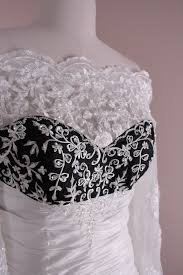 ms balciul u0027s custom made black and white wedding gown blog