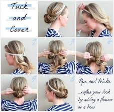 elastic hair band hairstyles 10 fabulous diy hairstyles with hair accessories pretty designs