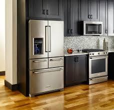refrigerator in kitchen home design