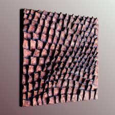 wall sculpture wood wall sculpture square wall panel textured painting