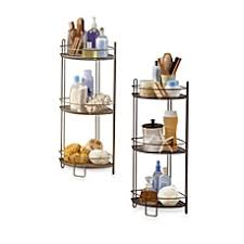 Bathroom Shelving Bed Bath  Beyond - Corner cabinet bed bath and beyond