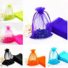 mesh gift bags 100pcs transparent mesh gift bags wedding party supply candy favor