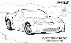 gusto car coloring pages and corvette eson me