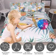 Free Bed Sets Buy Toucan Bedding Set Free Shipping 2 Matching Covers
