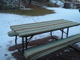 picnic table seat covers furniture vinyl picnic table wonderful fitted tablecloths