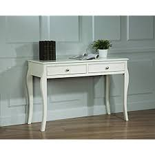 white writing desk amazon com
