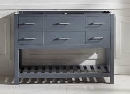 48 Inch Solid Wood Bathroom Vanity by Virtu Usa Caroline Estate 48