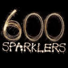 Sparklers 600 Giant Gold 18