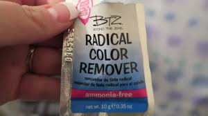 btz radical color removal review and demo december 29th 2016
