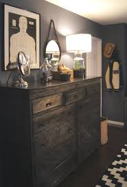 teen boy s room lower wall is annie sloan old white top of wall teen boy s room lower wall is annie sloan old white top of wall is martha stewart seal lights are restoration hardware with the cord running be