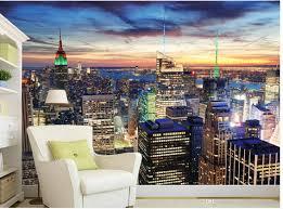beautiful cityscape new york night view tv wall murals mural 3d beautiful cityscape new york night view tv wall murals mural 3d wallpaper 3d wall papers for