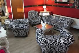 zebra living room set casa padrino designer chesterfield living room furniture sofa