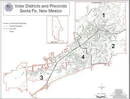 Santa Fe Map District Map Rad Acton For City Council District 2