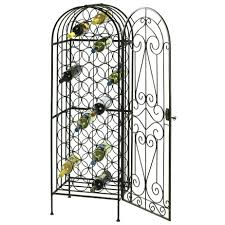 Wine Rack In Cabinet Insert Artistic Metal Wine Rack 26 Inches