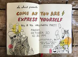come as you are express yourself 80 u0027s u0026 90 u0027s halloween party