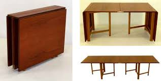 Modern Drop Leaf Table Creative Of Drop Leaf Folding Table Walker Antiques Danish Modern