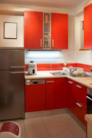 red kitchen decor for modern and retro design cool black idolza