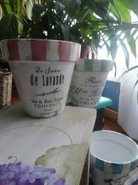 Shabby Chic Flower Pots by 1769 Best Macetitas Images On Pinterest Paint Flowers Painted