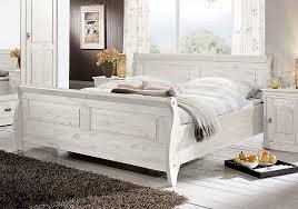 weiße schlafzimmer schlafzimmer set 4teilig kiefer massiv weiß lasiert