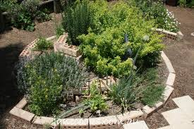 Herb Garden Layout Ideas by Spiral Herb Garden Design Photograph Garden Blueprints He