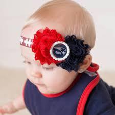 football headbands detroit lions headband baby football shabby chic