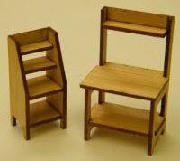 Potting Bench Kits Kits Furniture U0026 Accessories David And Wendy U0027s Dollhouse