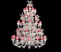 Coloured Chandelier by Chandeliers Idogi