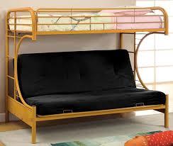 buy furniture of america cm bk1034 0r rainbow twin futon base bunk