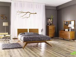 bedrooms sheer curtain light wood floor standing lamp dark gray